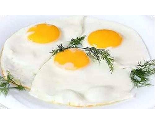 Яичница из трёх яиц